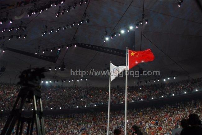 北京奥运会开幕升旗仪旗杆工程