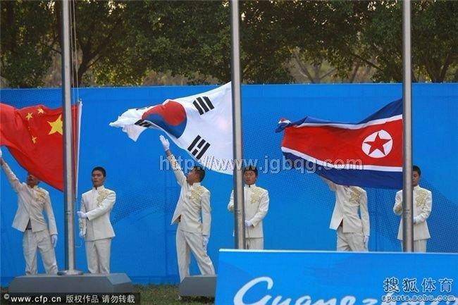 广州亚运会竖式颁奖旗旗杆工程
