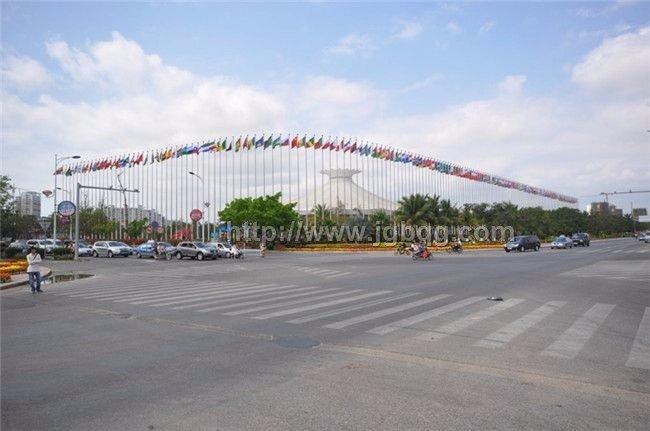 海南三亚市美丽之冠国旗杆工程