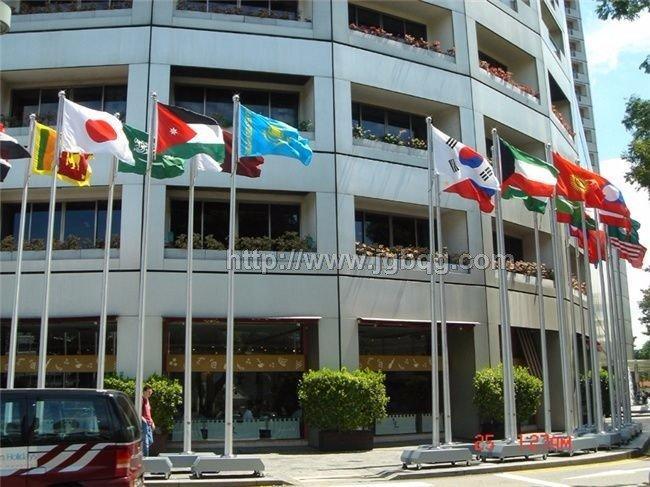 新加坡青年奥运会电动旗杆工程