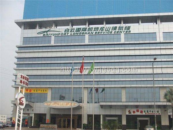 白云国际机场龙山候机楼15米旗杆案例