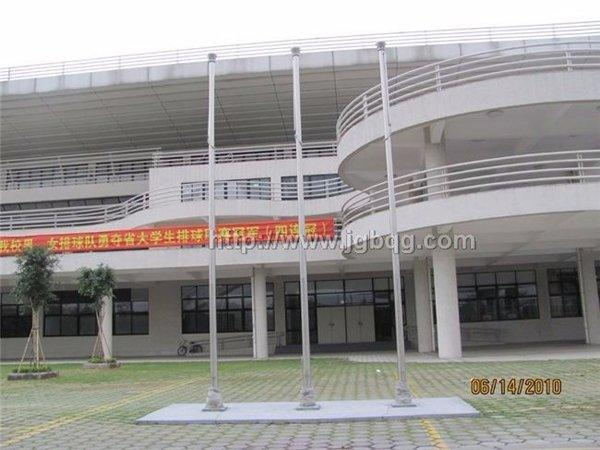 广东工业大学7米旗杆案例