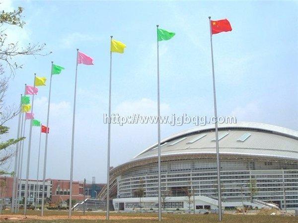广东外语外贸大学18米旗杆案例