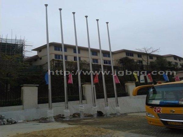 广州外语国小学12米旗杆案例