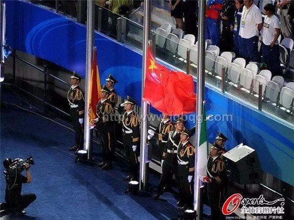 第14届上海国际游泳旗杆工程