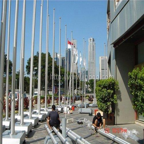 不锈钢锥形铝合金旗杆9米(如需自定高度请联系客服)